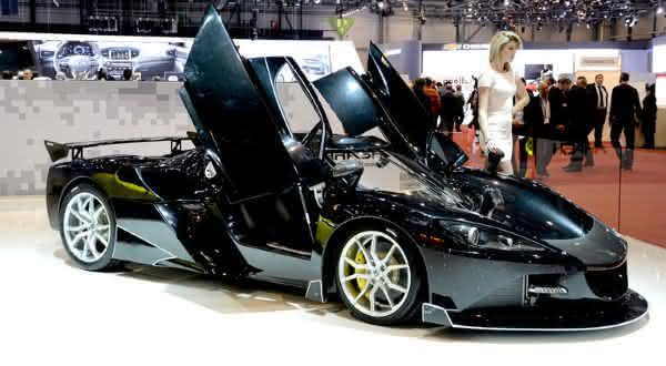 Arash AF10 Hybrid entre os carros mais caros do mundo