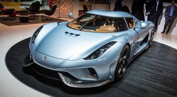 Koenigsegg Regera entre os carros mais caros do mundo