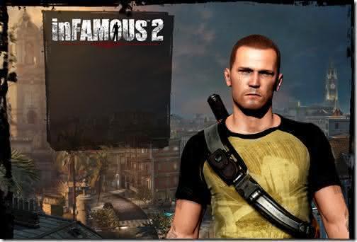 inFamous-2-Top 10 jogos mais vendidos PlayStation-3