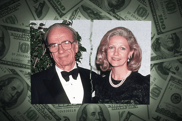 Rupert e Anna Murdoch entre os maiores divorcios
