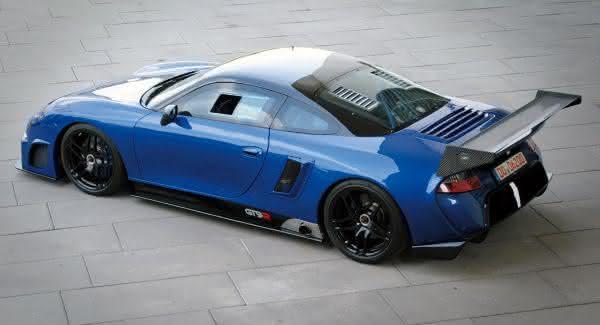 9ff Porsche GT9-R mais veloz