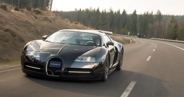 Bugatti Veyron Mansory Linea Vincero um dos carros mais rápidos