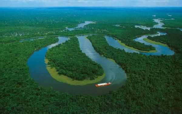 rio amazonas um dos maiores do mundo