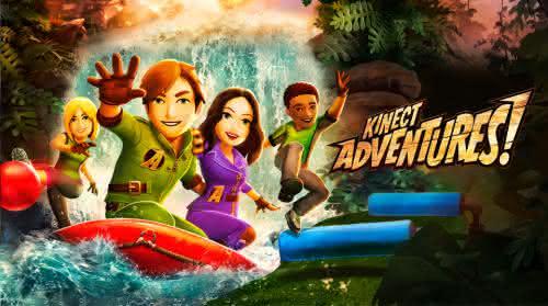 Kinect Adventures jogo mais vendido do xbox 360 da historia