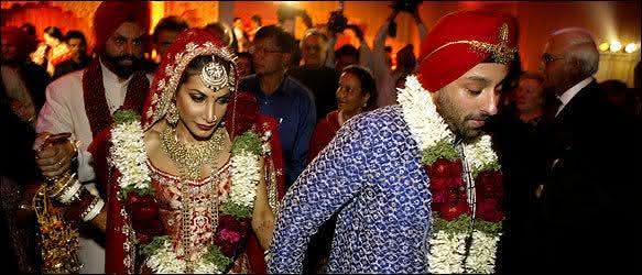 Vikram Chatwal and Priya Sachdev