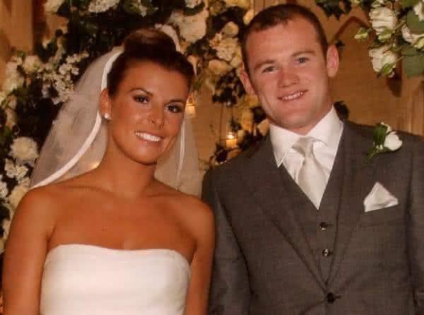 Wayne Rooney e Coleen McLoughlin