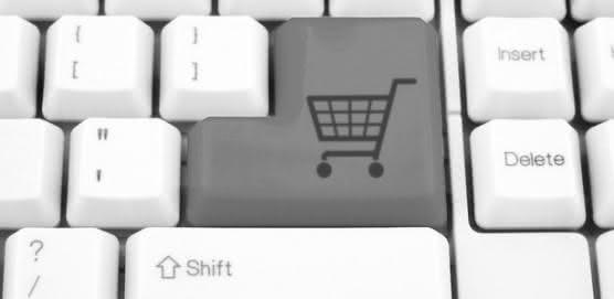 comodidade de se fazer compras online