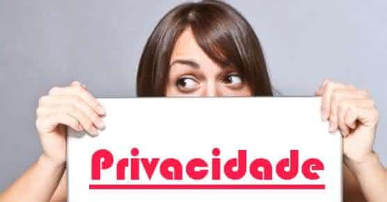compras com privacidade