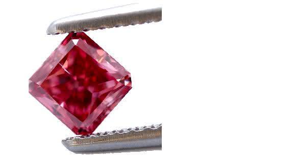 Red daimond diamante vermelho