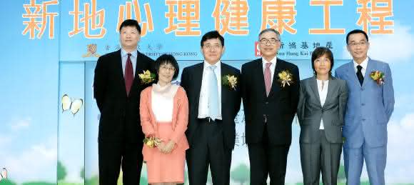 Thomas e Raymond Kwok familia
