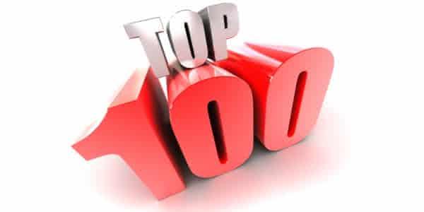 Top 100 musicas mais tocadas