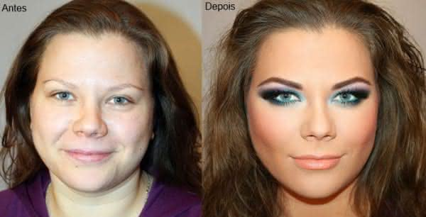 maquiagem atrai homens