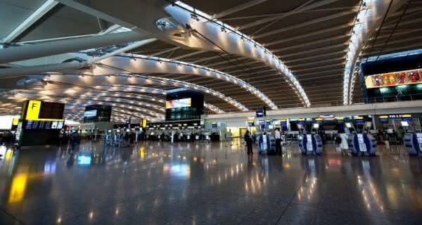 Heathrow airport maior aeroporto do mundo