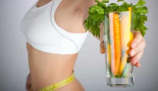dieta da comida crua entre as dietas mais usadas