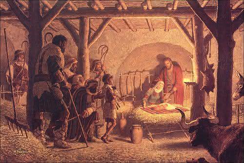 jesus nasceu em uma casa