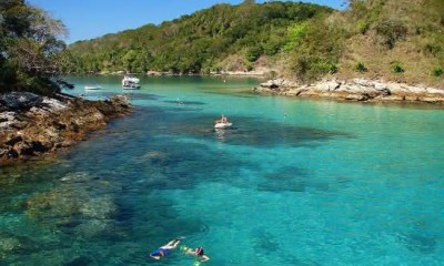 lagoa azul entre as praias mais bonitas