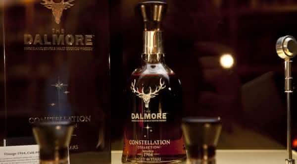 Dalmore 62 Single Highland Malt Scotch whiskys mais caros do mundo