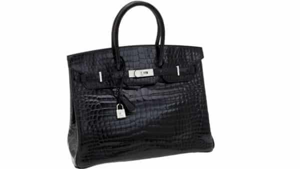 Hermes Matte Crocodile Birkin bolsa mais cara do mundo