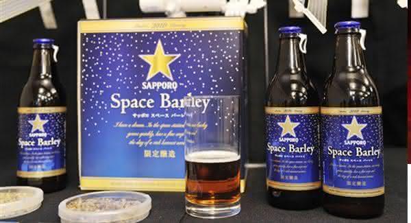 Sapporo Space Barley cerveja