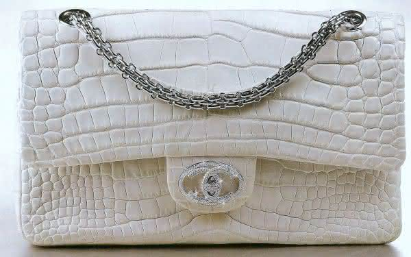 The Chanel Diamond Forever Classic Bag