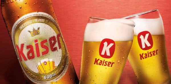 kaiser e uma das cervejas mais vendidas do brasil