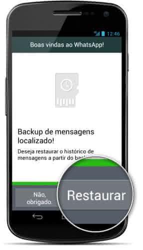 restaurar mensgens apagadas whatsapp