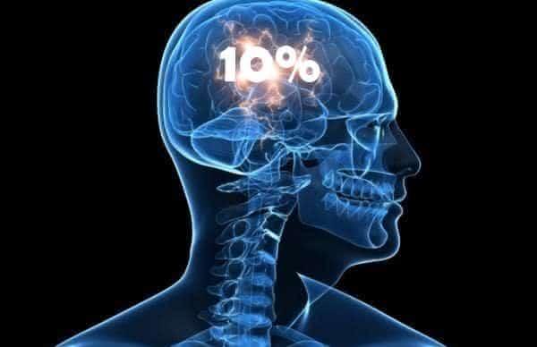 usamos apenas uma parte do cerebro mito