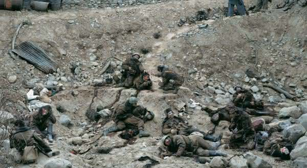 Dead Troops Talk – 1992 Jeff Wall fotografias mais valiosas