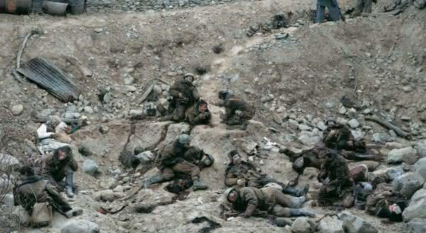 Dead Troops Talk – 1992 Jeff Wall fotografias mais valiosas