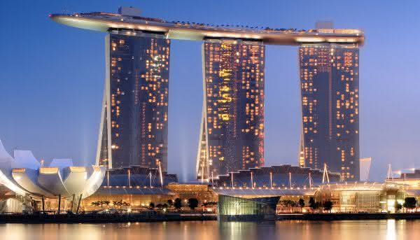 Marina Bay Sands melhores Cassinos do mundo