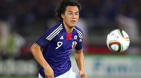 Shinji Okazaki japao