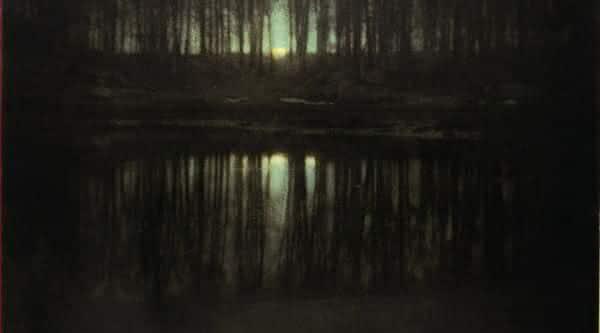 foto The Pond – Moonlight – 1904 Edward Steichen