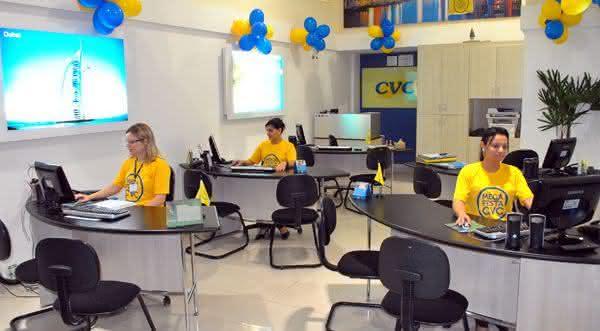 cvc uma das melhores agencias de viagens do brasil