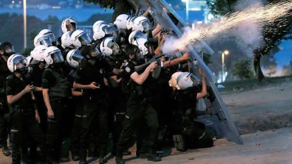 forca policial da turquia