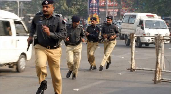 forca policial paquistanesa