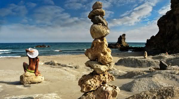 Cabo de Gata praia nudismo espanha
