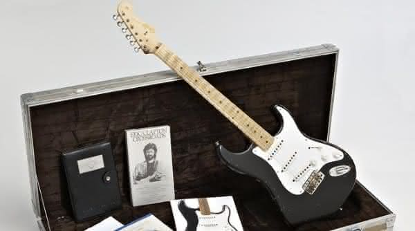 Eric Claptons Fender Stratocaster