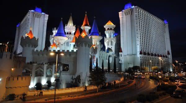 Excalibur Hotel com maior numero de quartosd