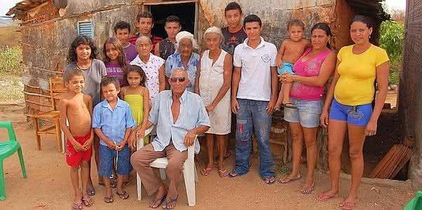 Luiz Costa de Oliveira familia brasileira