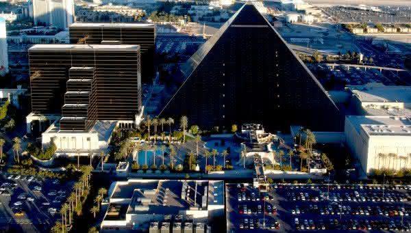 The Luxor hotel