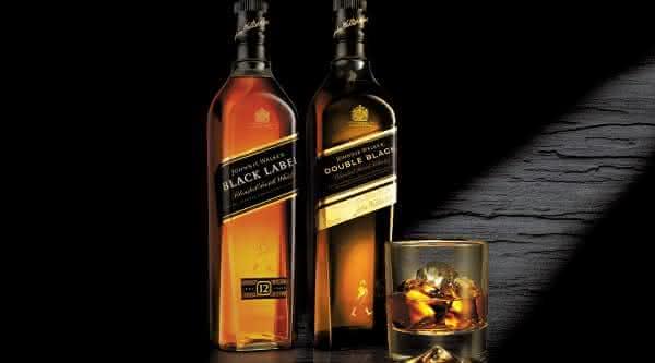 black label jhony walker bebidas destiladas mais consomidas