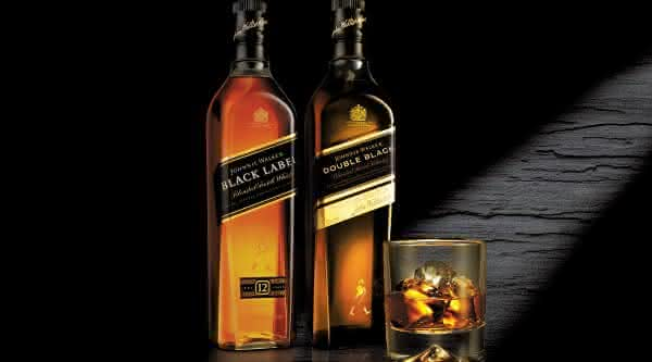 black label jhony walker bebidas destiladas mais consomidas