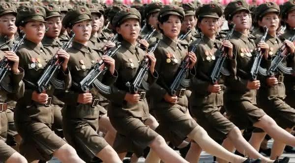forcas armadas da coreia do norte