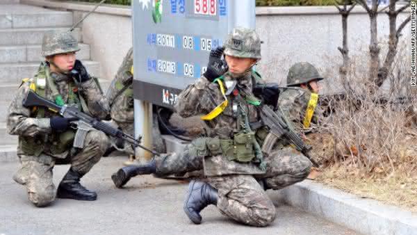 forcas armadas da coreia do sul
