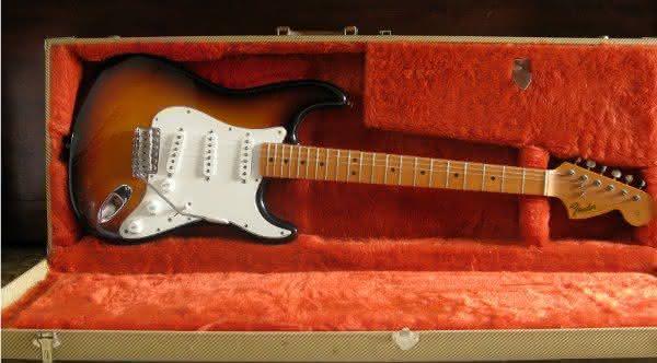 guitarra Jimi Hendrixs 1968 Fender Stratocaster