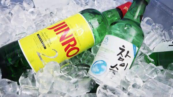 jinro liquor bebidas destiladas mais consumidas no mundo