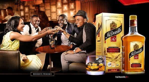 mc dowells whiskys mais consumidos no mundo
