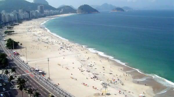 praia de copacabana a mais visitada do brasil