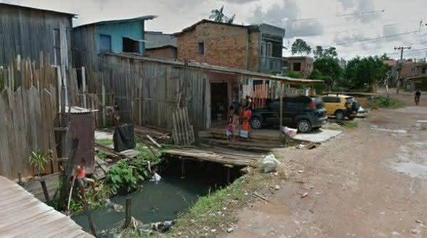 Baixadas da Estrada Nova favela