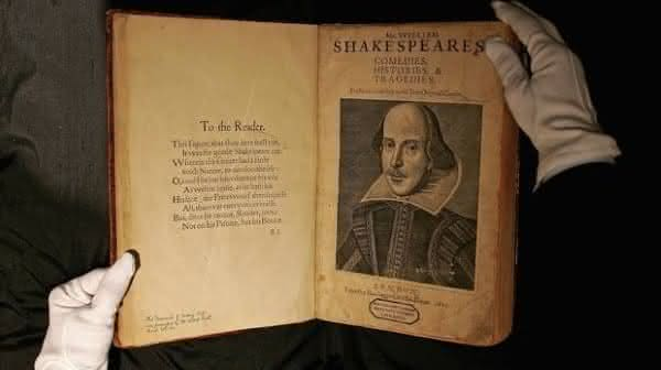 First Folio William Shakespeare